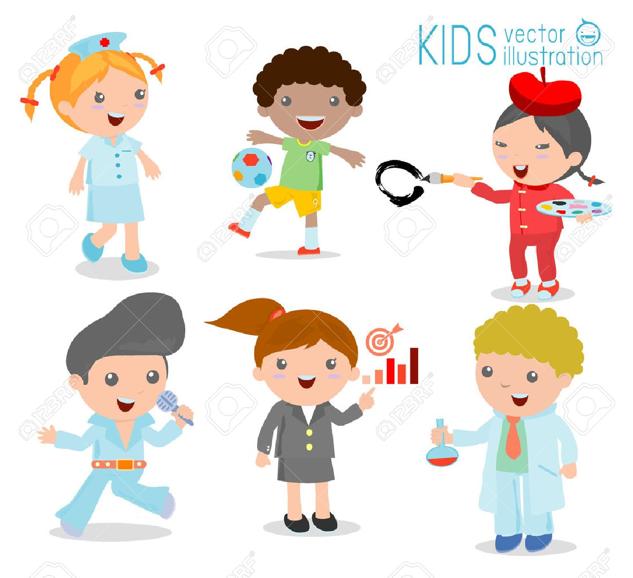 2 446 kids camp cliparts stock vector and royalty kids camp kids camp childrens dream jobs professions in dream for kids happy children in