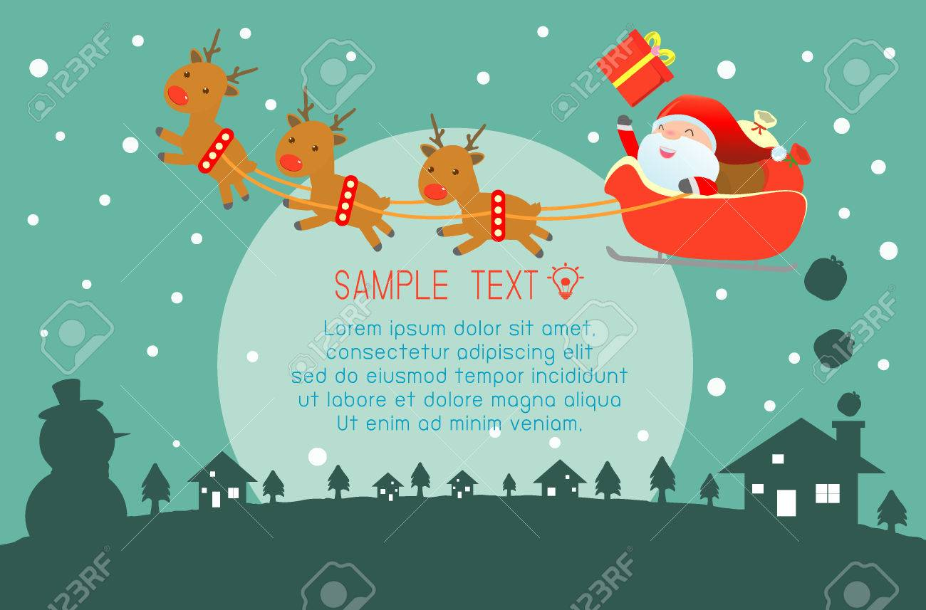 Merry christmas happy new year merry christmas design with wide merry christmas happy new year merry christmas design with wide copy space santa kristyandbryce Images
