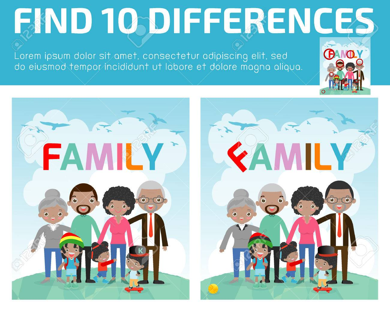 Brain Differences Seen In Children With >> Find Differences Game For Kids Find Differences Brain Games