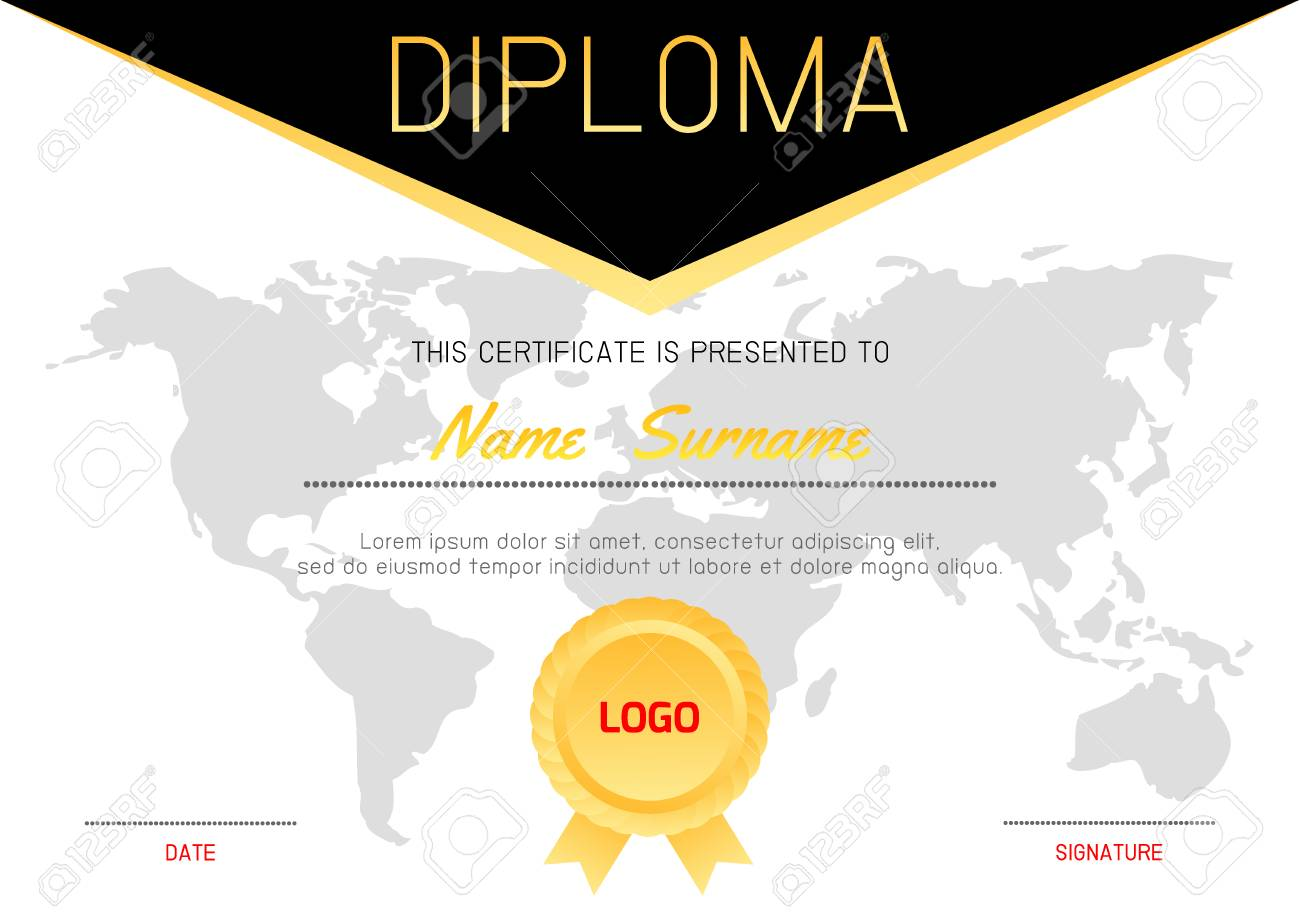 Certificate template with luxury and modern patterndiploma certificate template with luxury and modern patterndiploma certificate background design templatediploma yelopaper Image collections