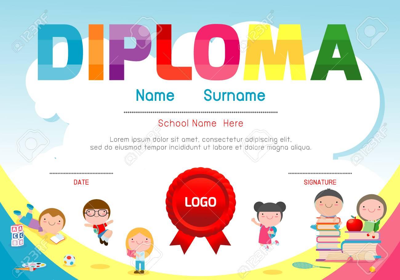 preschool certificates