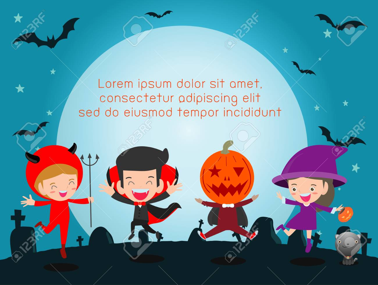 Halloween Poster Background Free.Happy Halloween Poster Party And Theme Design Background Group