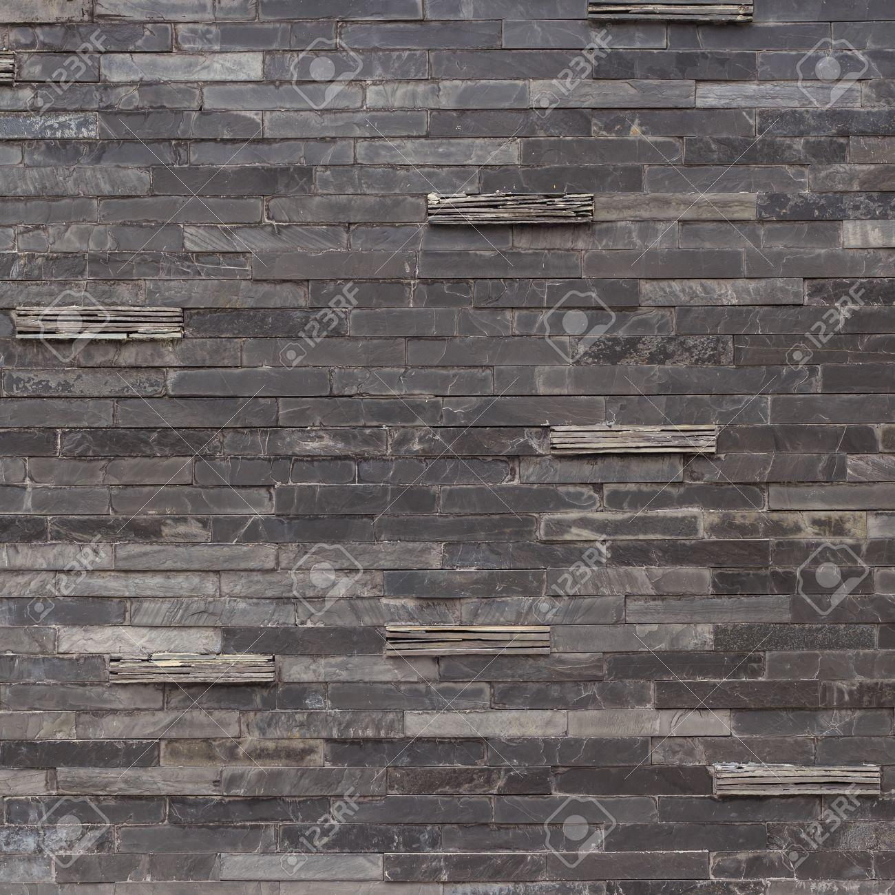 Fliesen schiefer textur  Schwarz Schieferwand Textur Und Hintergrund Lizenzfreie Fotos ...