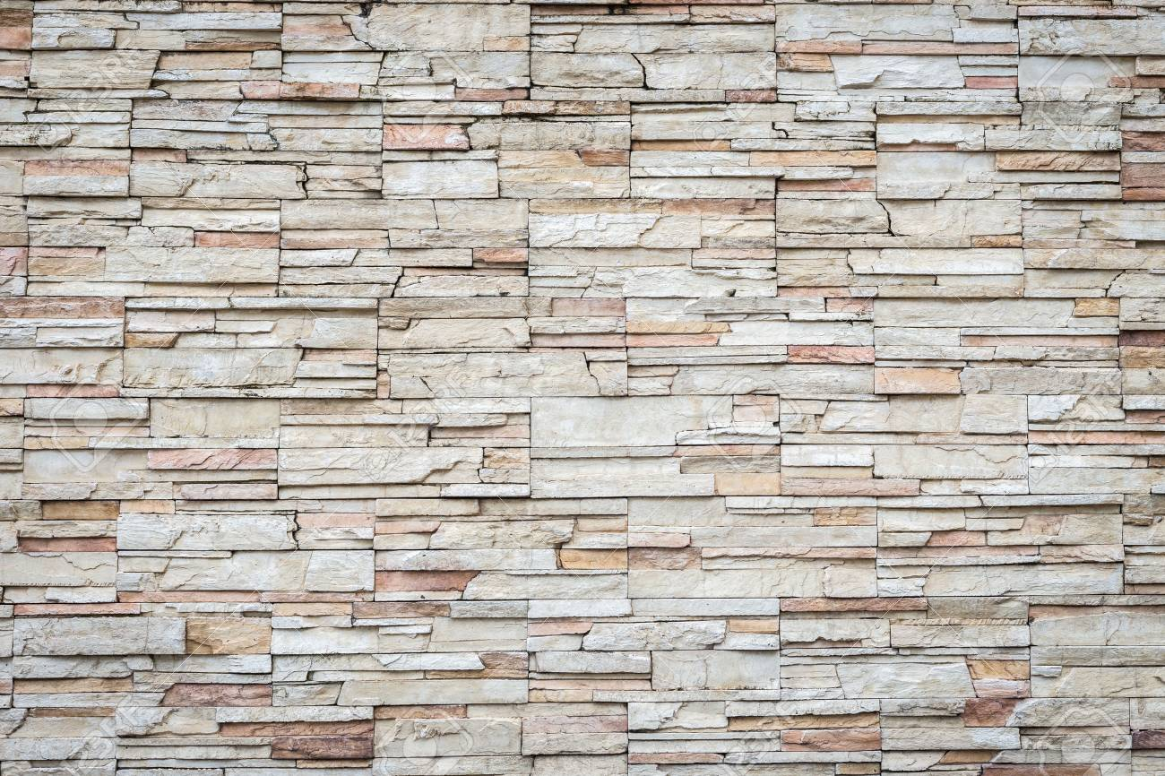 Close up Motif pierre de travertin naturel texture du mur et le fond Banque d'images - 42582839