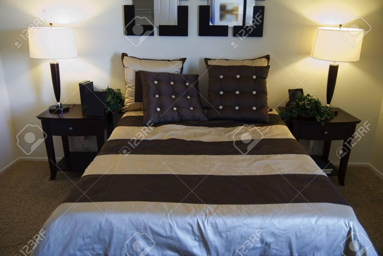 belle chambre coucher moderne banque dimages et photos libres - Belle Chambre Moderne