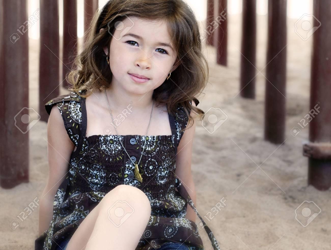 Portrait of a pretty girl Stock Photo - 5226008