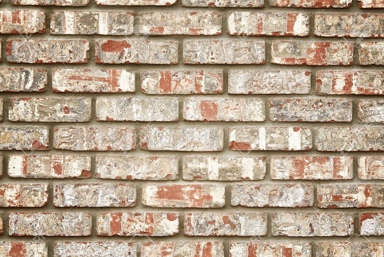 Faux rustic brick wall Stock Photo - 11977066