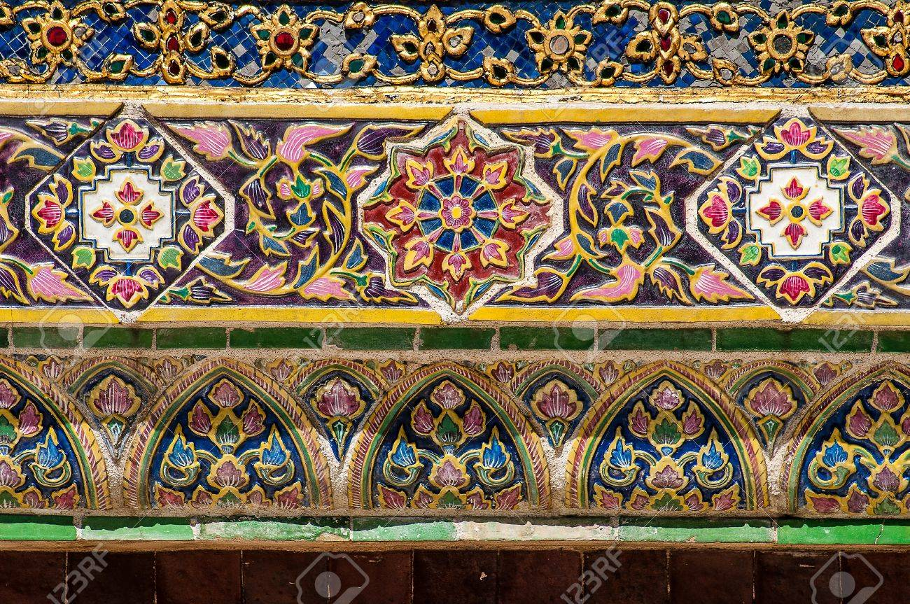 Thai style antique ceramic tile in royal palace stock photo thai style antique ceramic tile in royal palace stock photo 19549778 doublecrazyfo Image collections