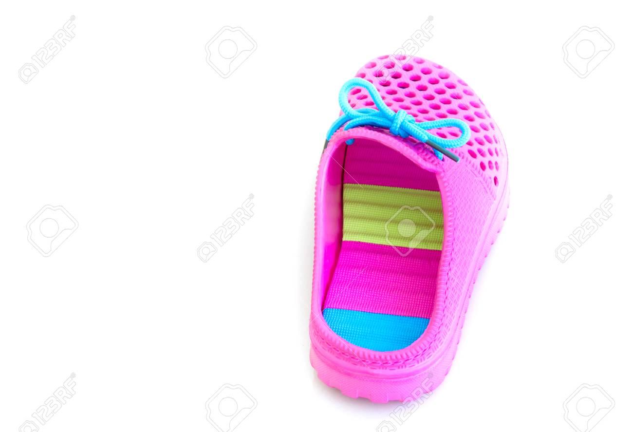 goditi un grande sconto selezione speciale di miglior prezzo per Variopinto dei sandali di gomma dentellare su una priorità bassa bianca