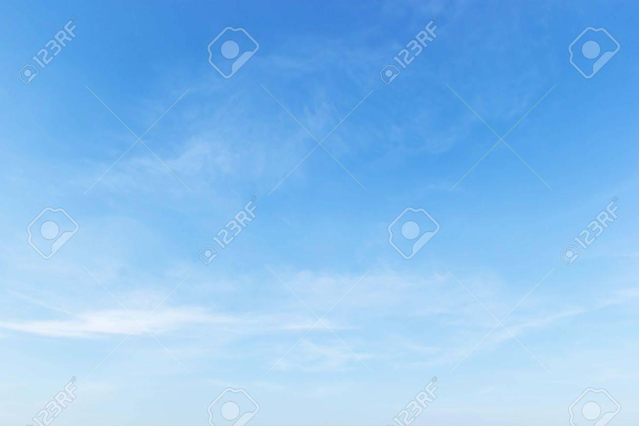 Fantastic soft white clouds against blue sky - 25215536