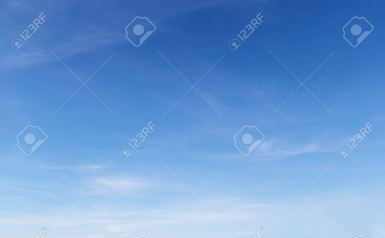Fantastic soft white clouds in blue sky - 25215552