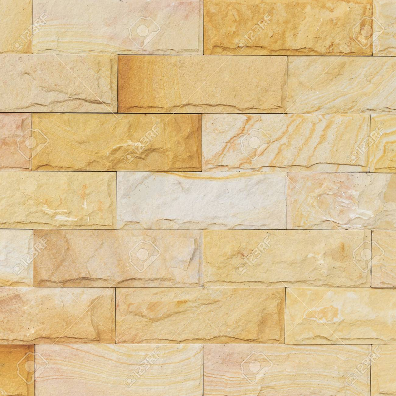 Sand Stone Wall Texture And Ackground Of Decorate Stock Photo ...
