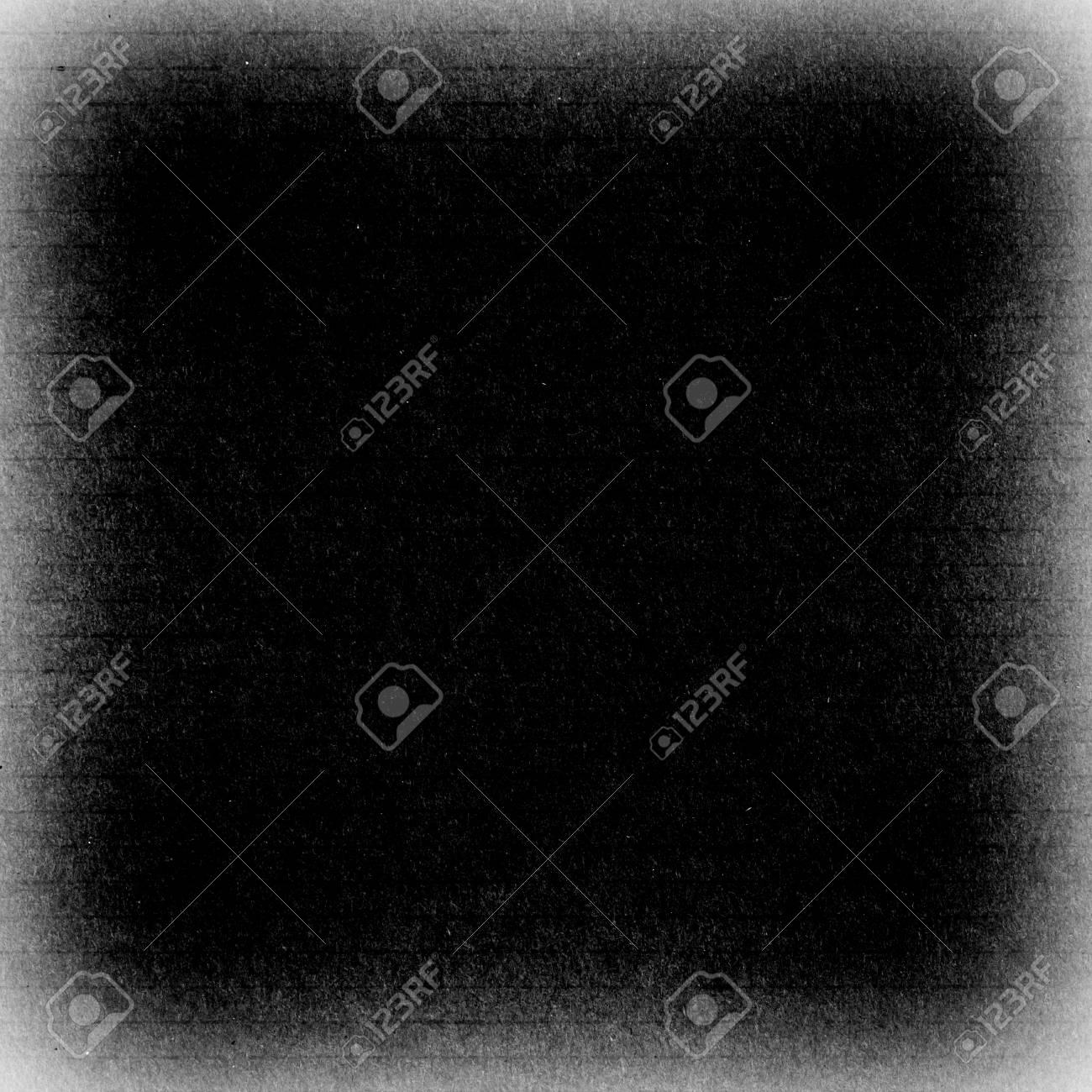 Marco De Grunge, Color Negro, Textura De Cartón O Fondo Fotos ...