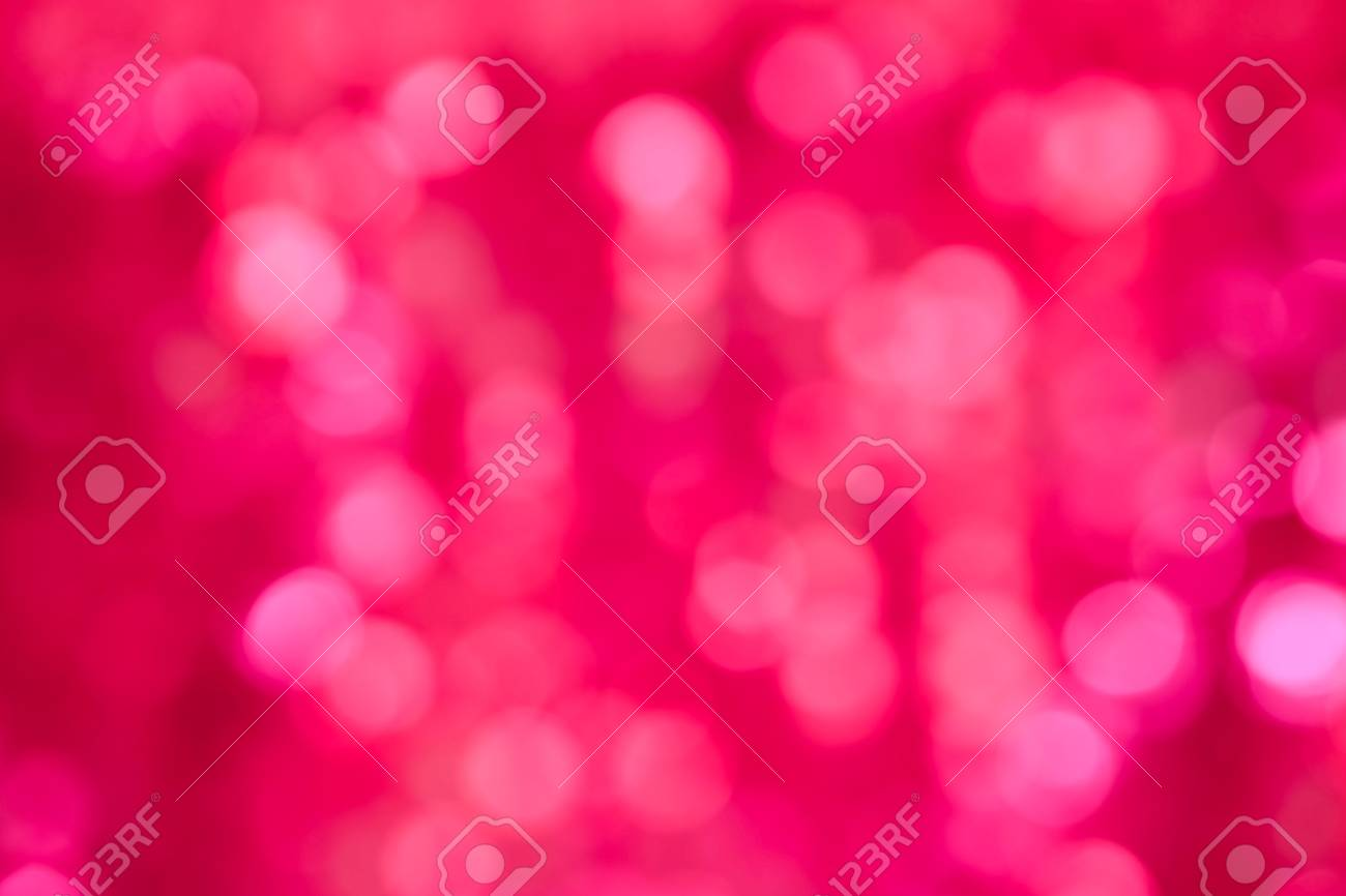 Abstract Bokeh Background Of Lights For Happy New Year Merry