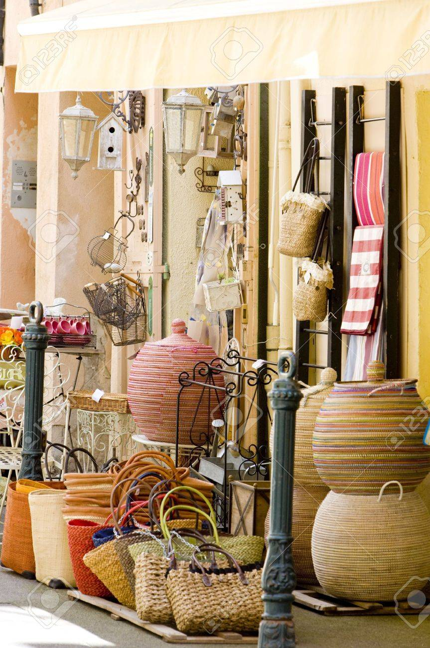 Shop In Aix-en-Provence, Provence, France Stock Photo, Picture And ...