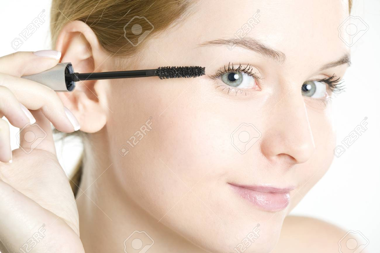portrait of woman's make up Stock Photo - 7163026