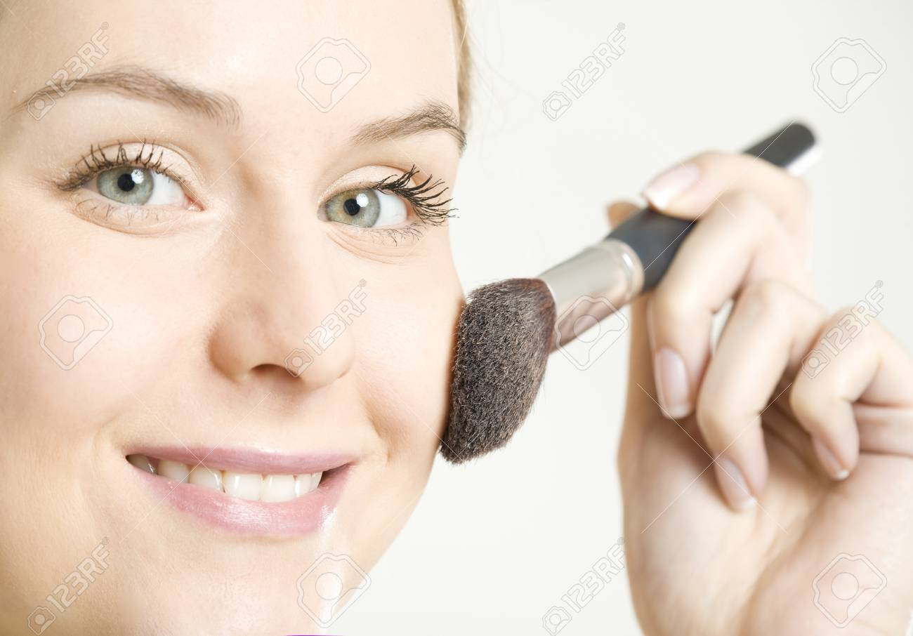 portrait of woman's make up Stock Photo - 7162244