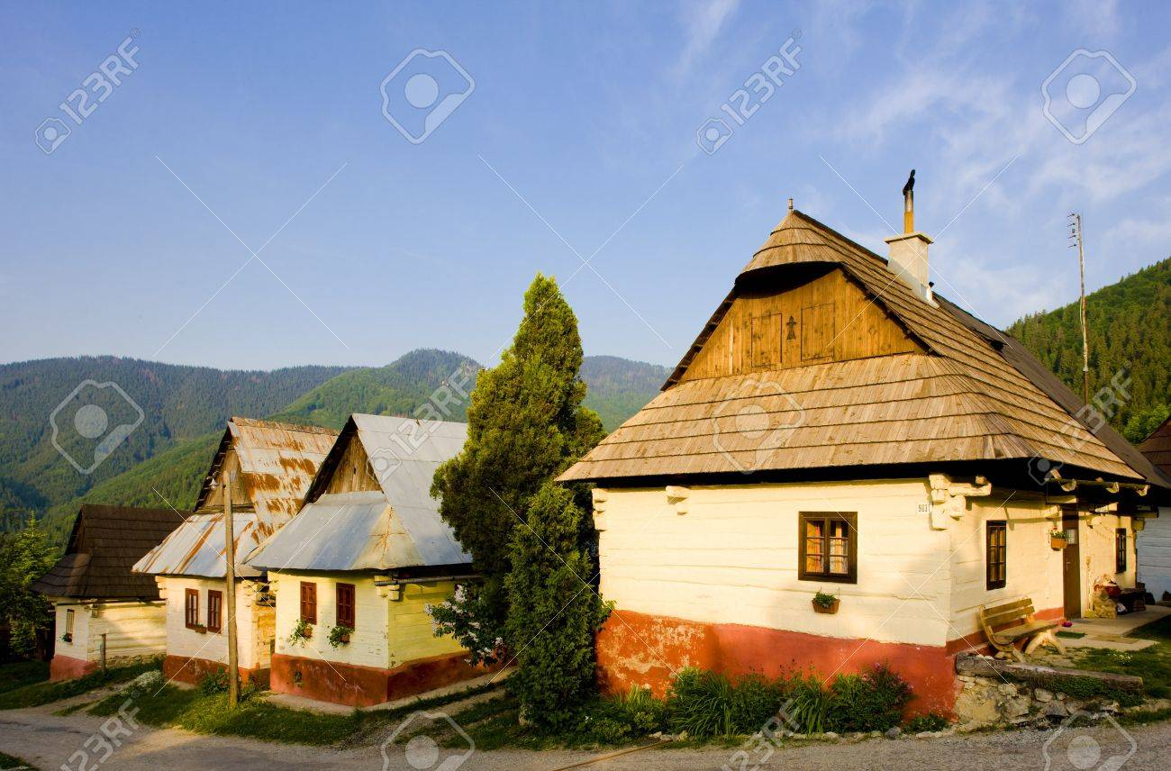 Vlkolinec, Slovakia Stock Photo - 7386560