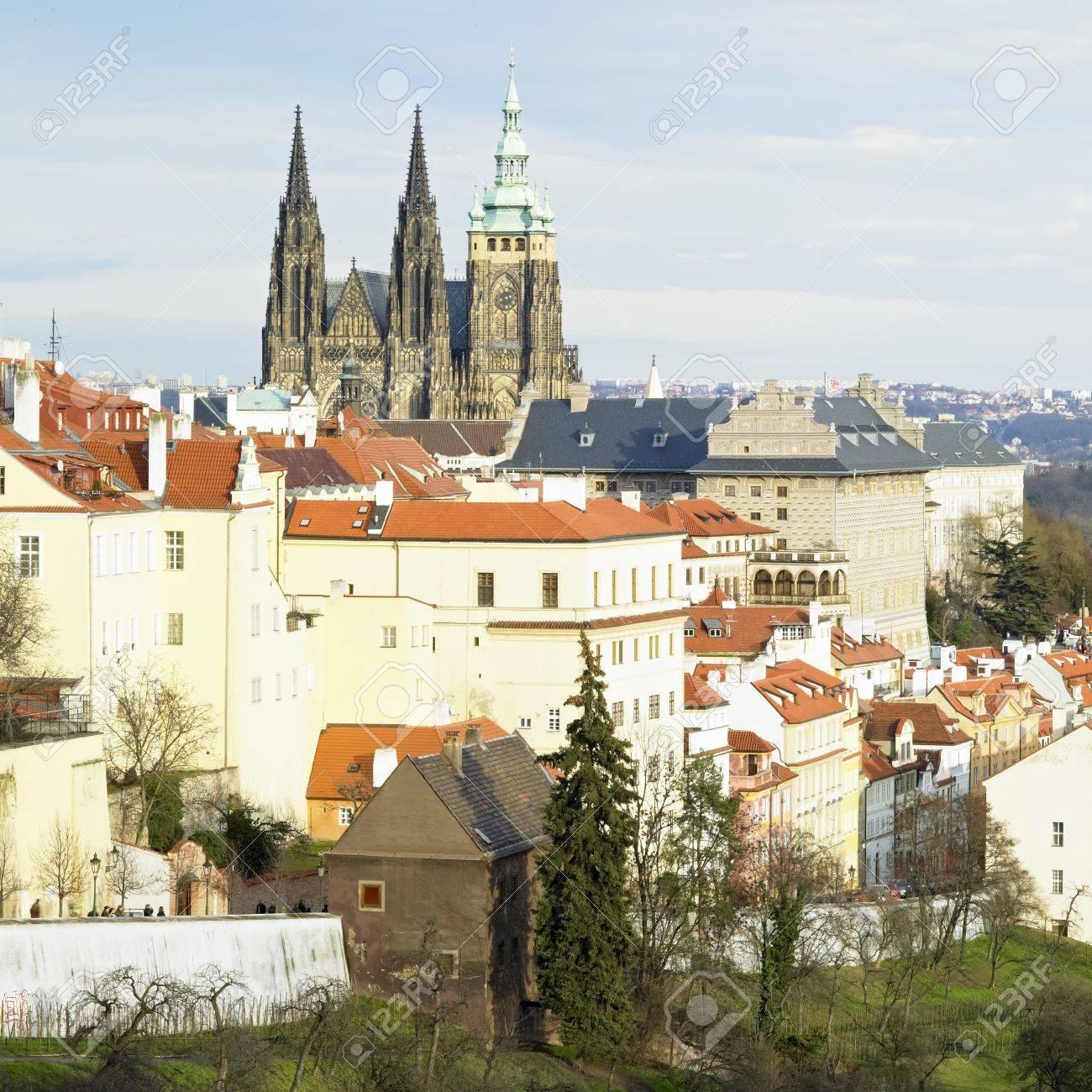 Hradcany, Prague, Czech Republic Stock Photo - 8220907