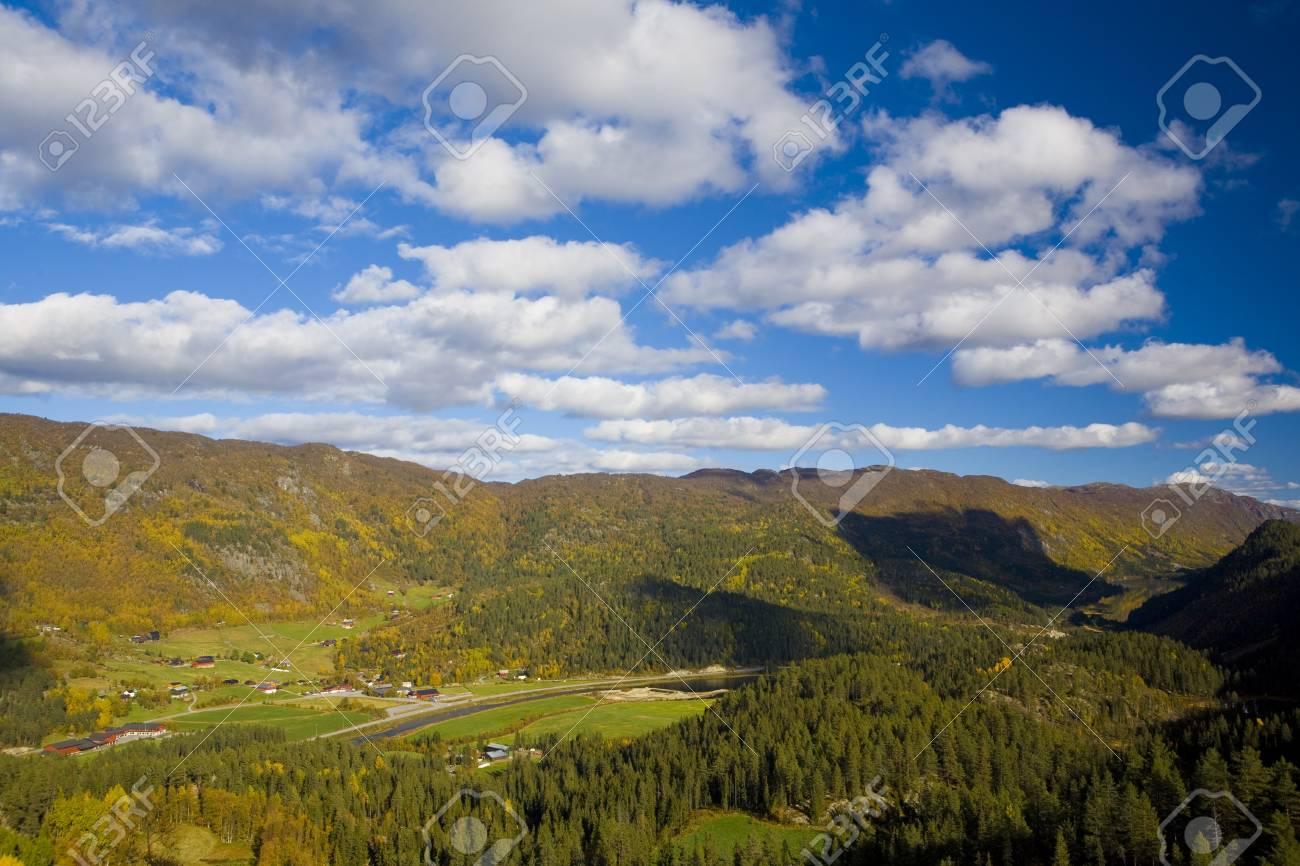 landscape of Southern Vestlandet, Norway Stock Photo - 9676166
