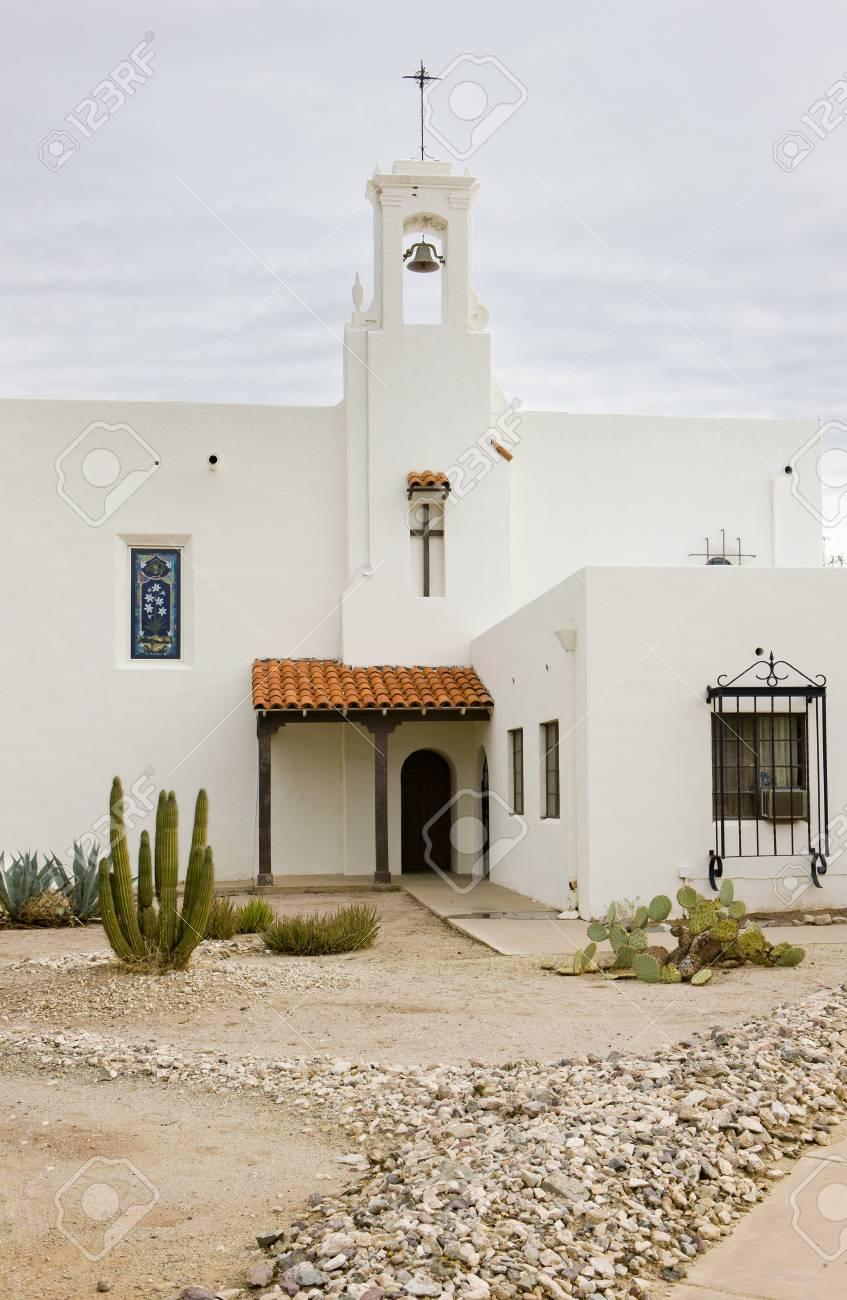 church in Ajo, Arizona, USA Stock Photo - 11349243
