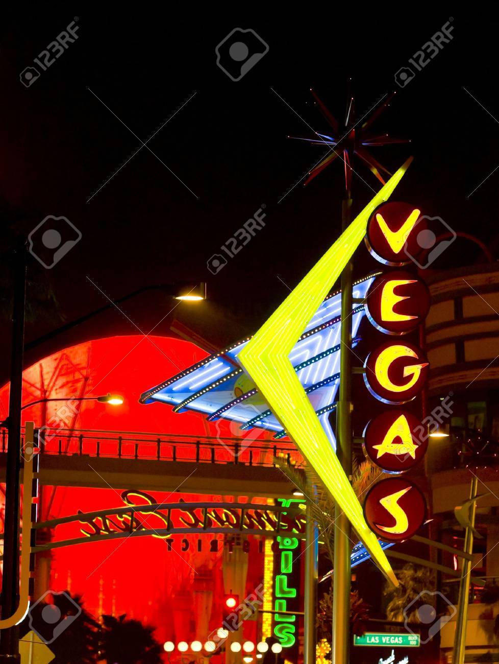 Fremont Street, Las Vegas, Nevada, USA Stock Photo - 12092441