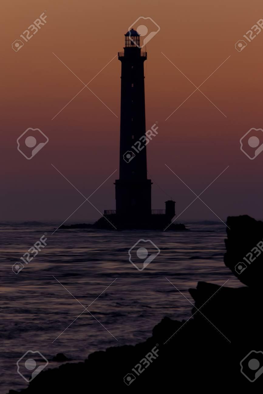 lighthouse, Cap de la Hague, Normandy, France Stock Photo - 13523459