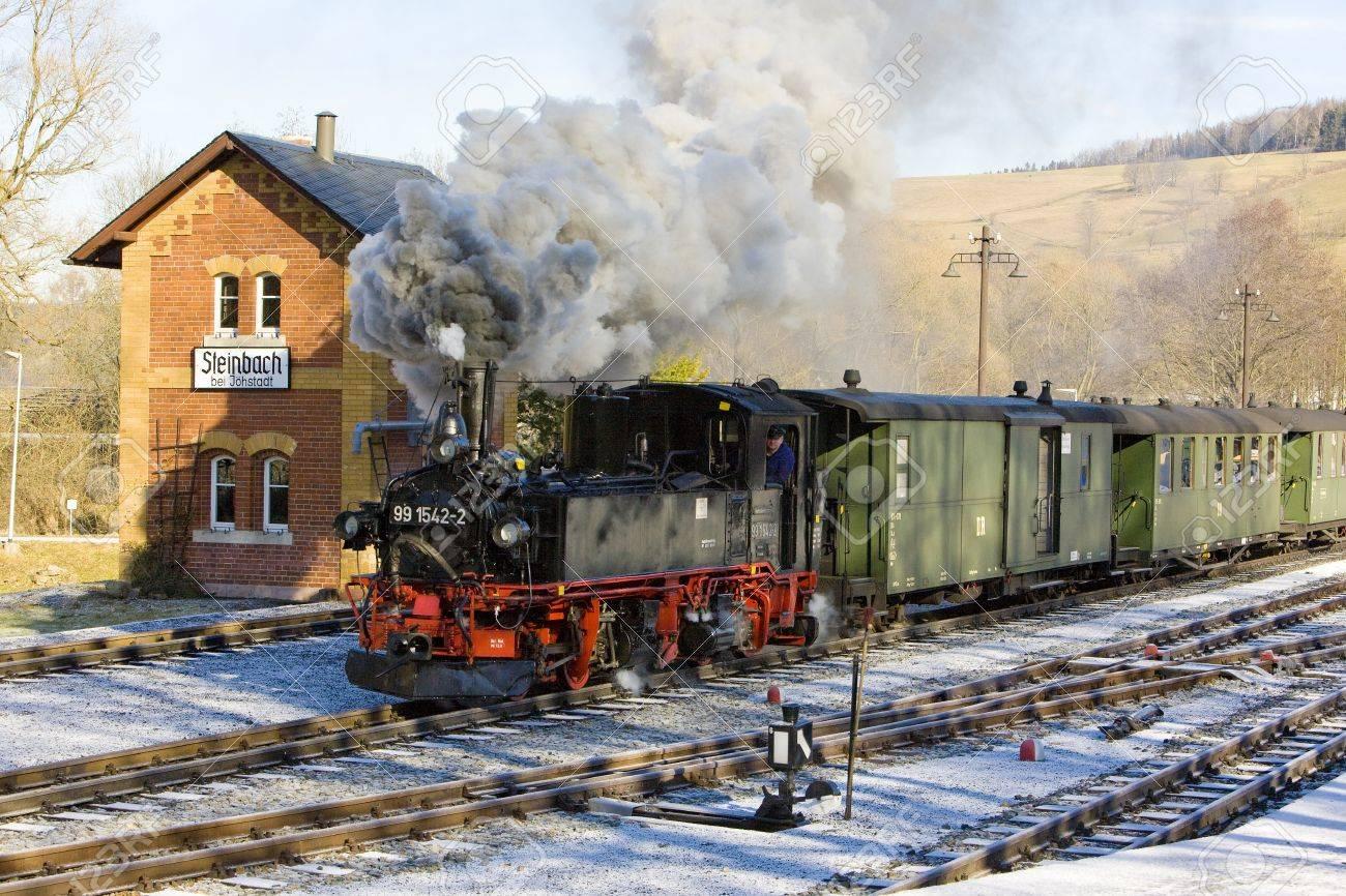 steam train, Steinbach - J�hstadt, Germany Stock Photo - 13537077