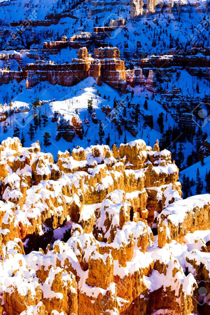 Bryce Canyon National Park in winter, Utah, USA Stock Photo - 15650695