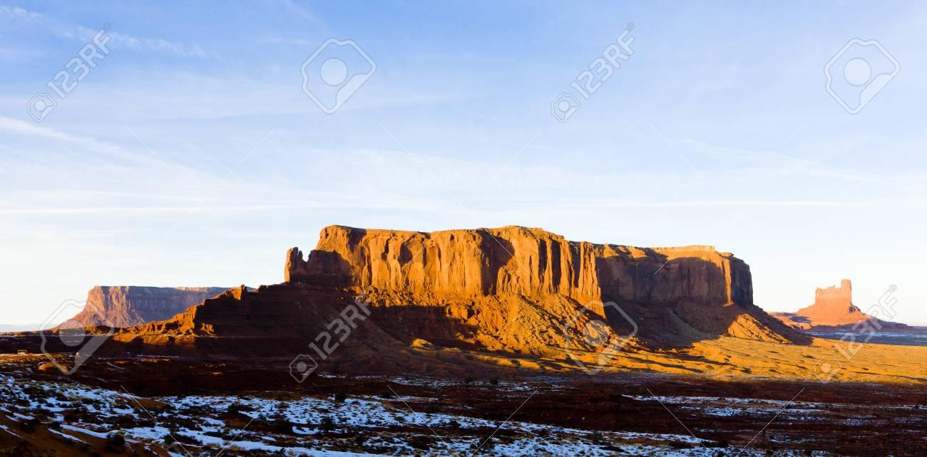 Sentinel Mesa, Monument Valley National Park, Utah-Arizona, USA Stock Photo - 16771649