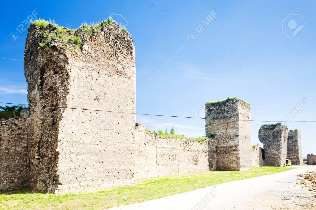 Smederovo Fortress, Serbia Stock Photo - 17174689