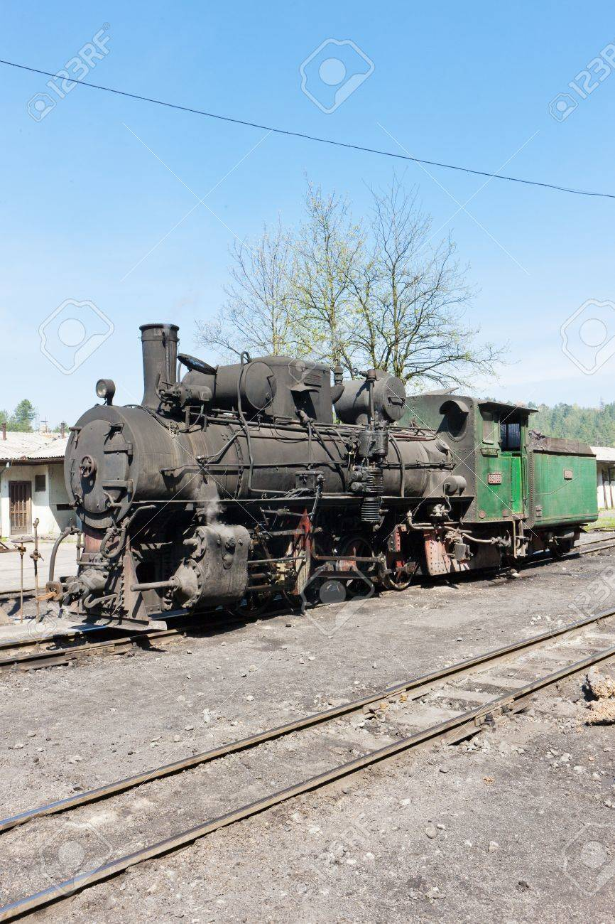 steam locomotive, delivery point in Oskova, Bosnia and Hercegovina Stock Photo - 18114104