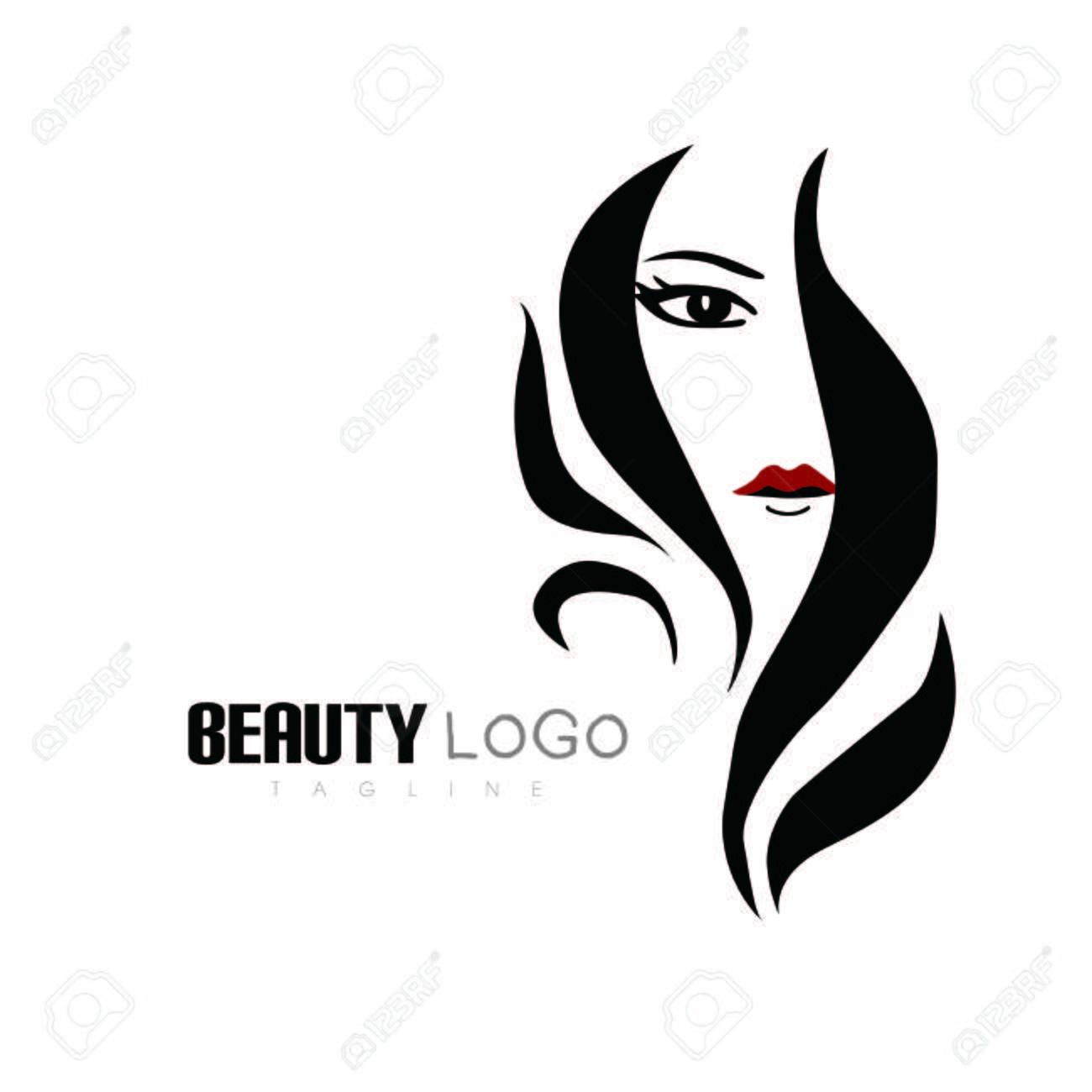 Beauty Hair Salon Logo Salon Logo Royalty Free Cliparts Vectors And Stock Illustration Image 73470304