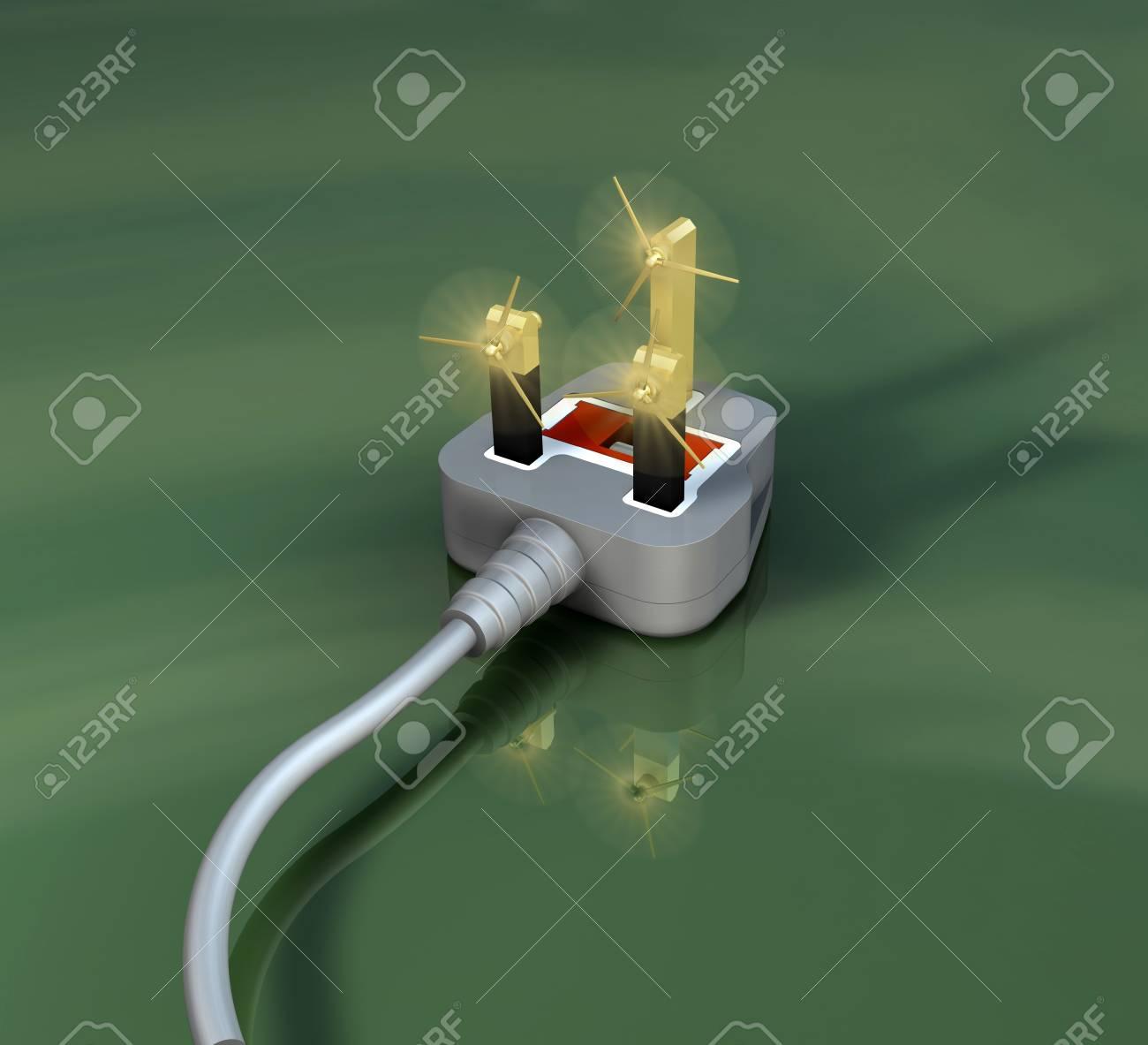 Alternative energy electrical power Stock Photo - 12416791