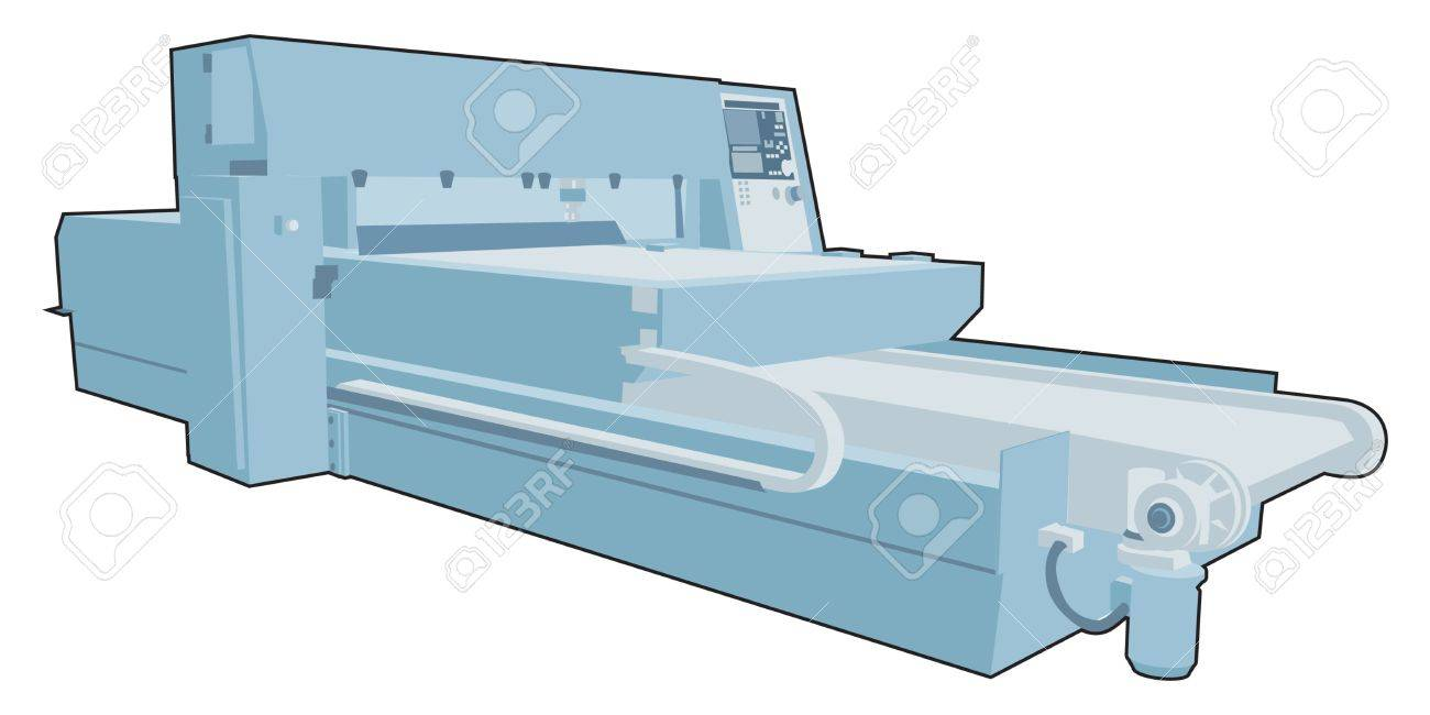 Industrial factory machine 9 Stock Vector - 13282789