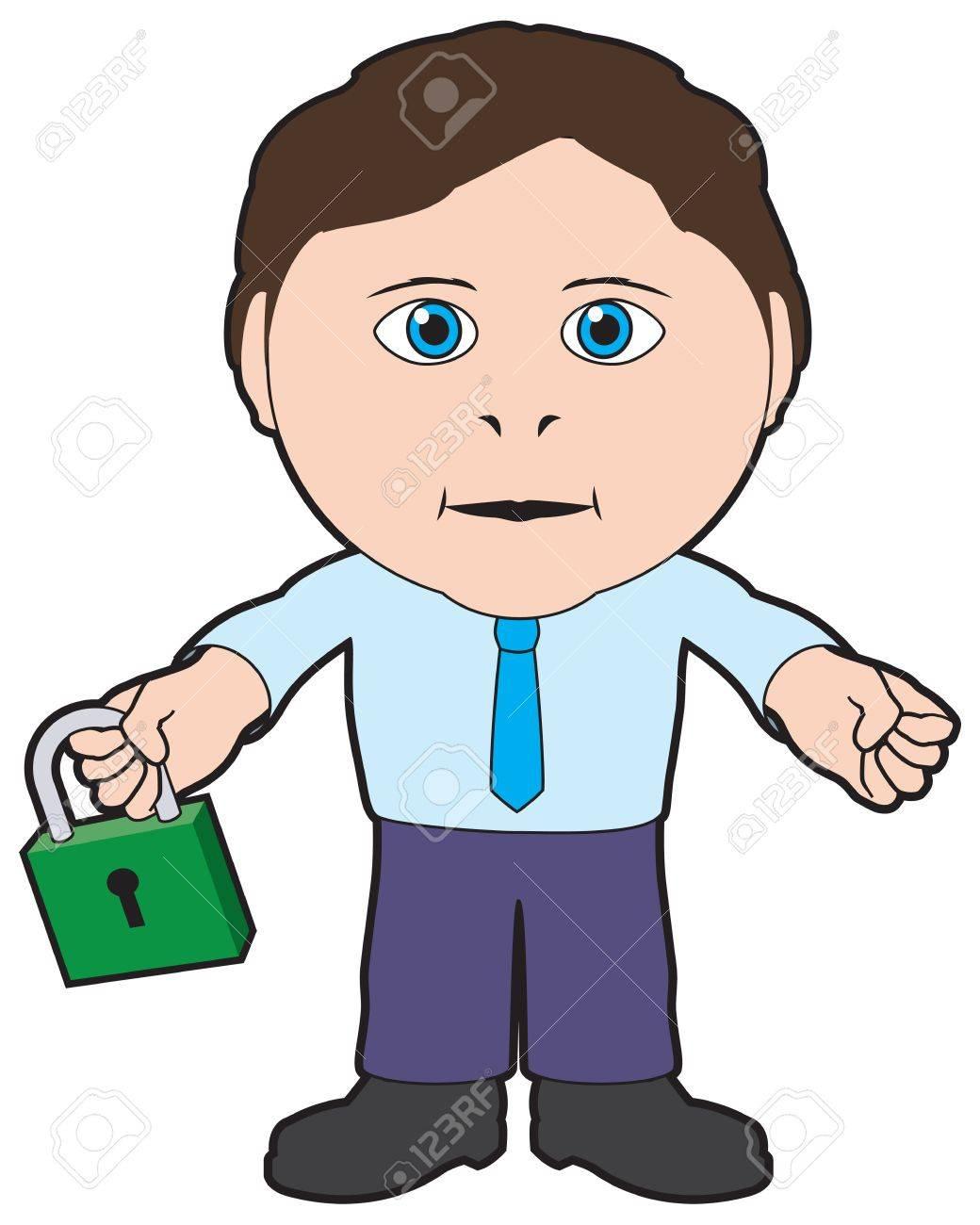Security man Stock Vector - 13477088