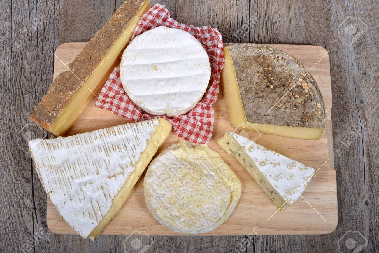 differents cheeses of country to France - 25887226