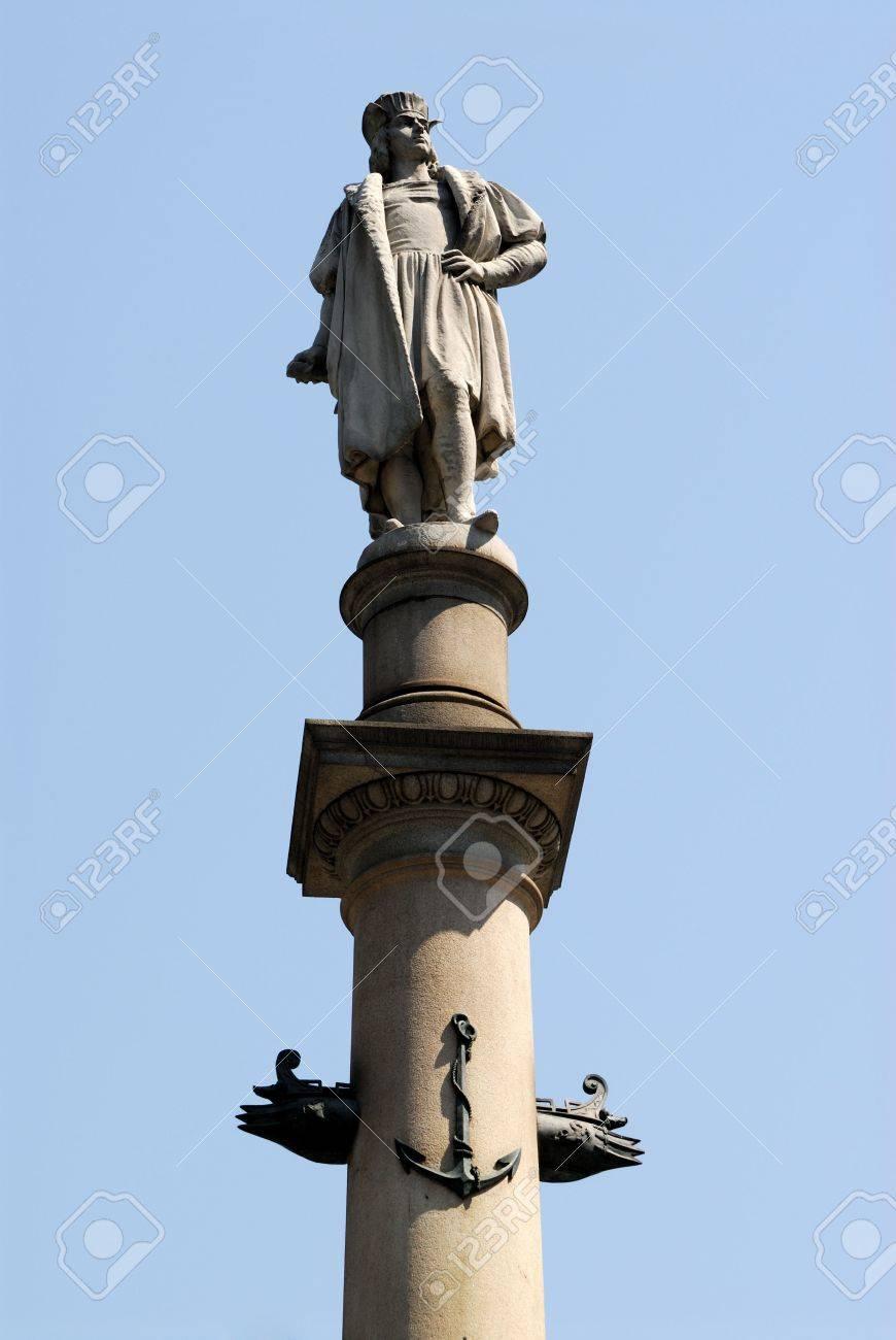 statue of christopher columbus columbus circle new york city