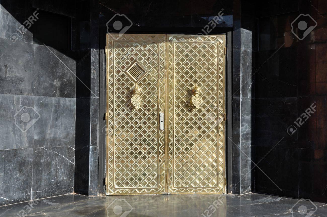 Golden door in Marrakech Stock Photo - 3990934 & Golden Door In Marrakech Stock Photo Picture And Royalty Free ... Pezcame.Com