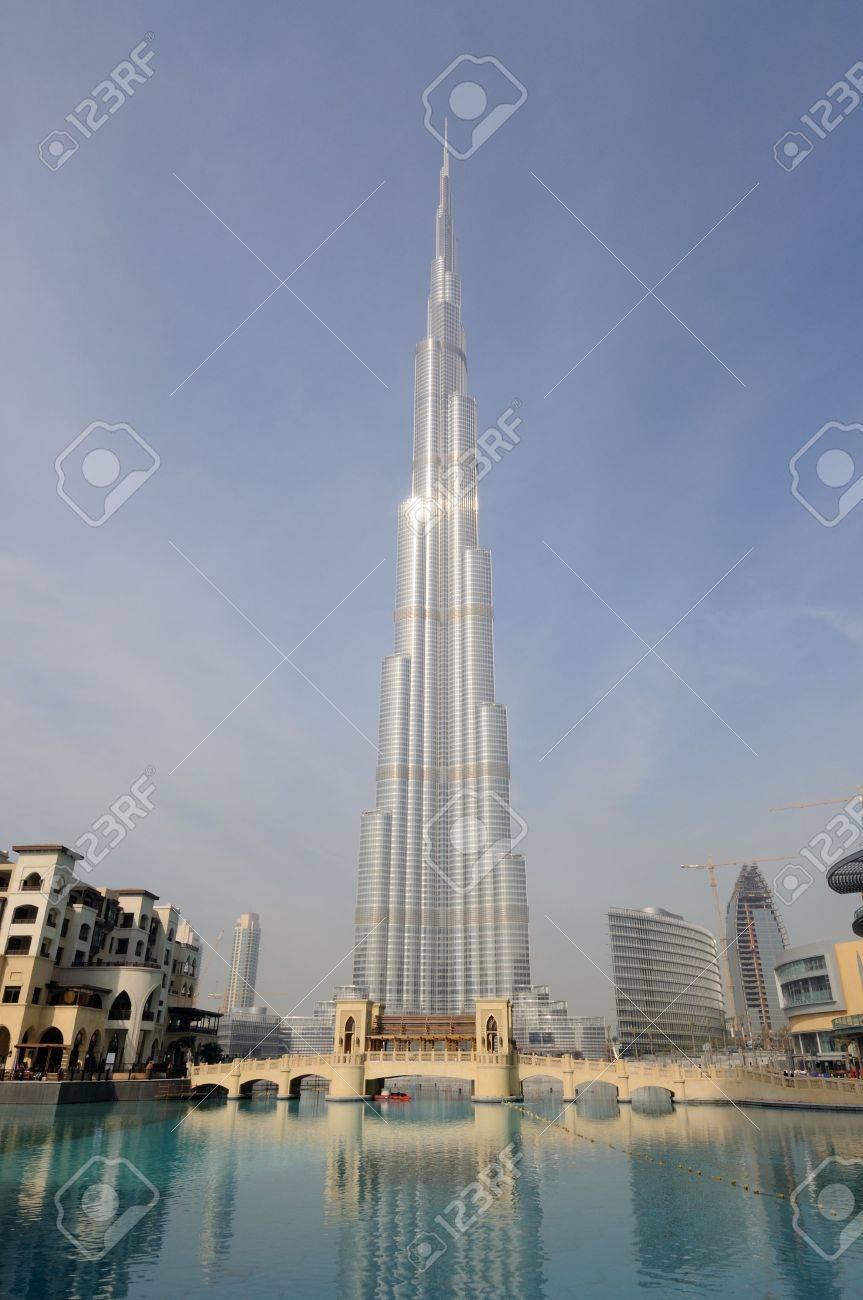Highest Skyscraper in the World - Burj Dubai (Burj Khalifa), Dubai United Arab Emirates Stock Photo - 6347217