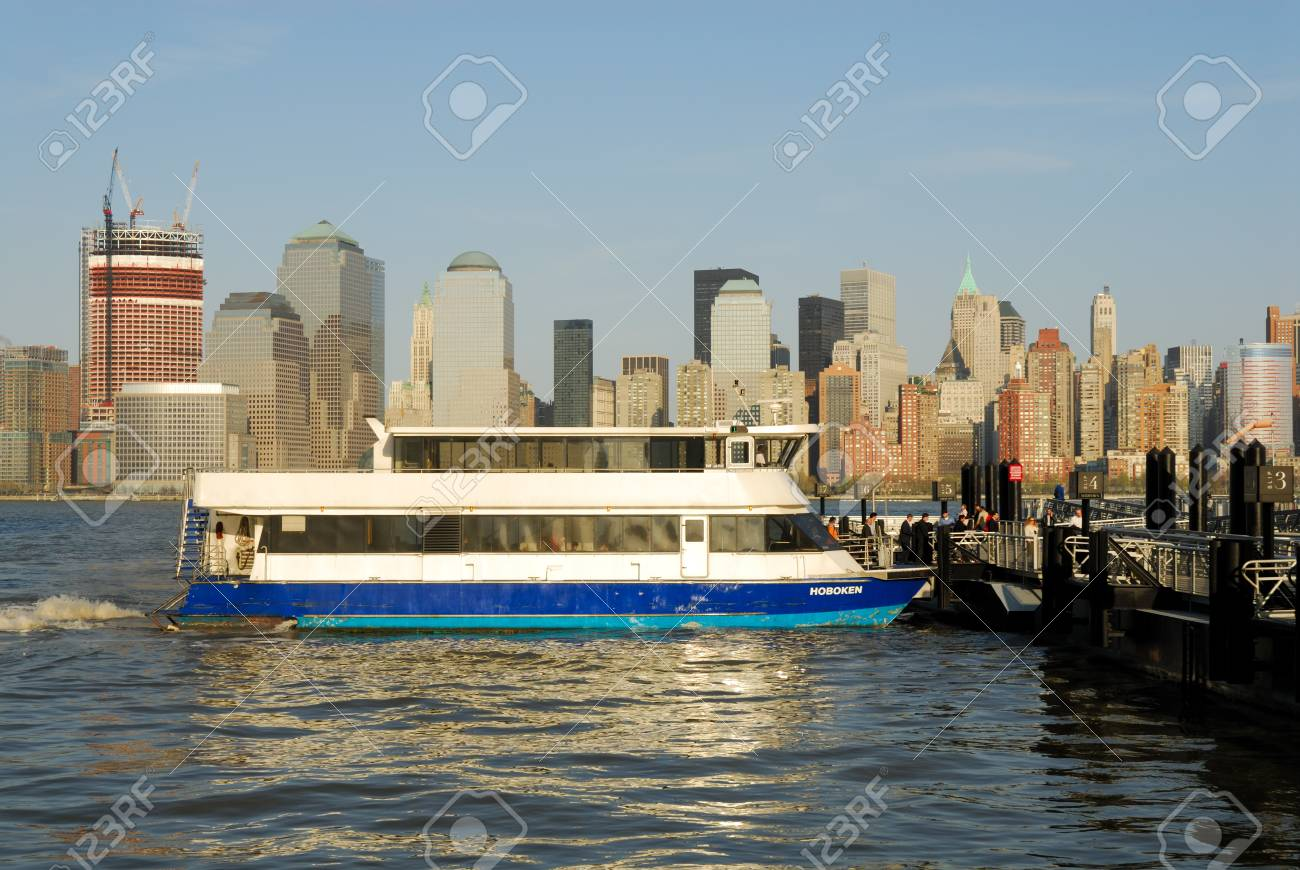 New Jersey ferry on Hudson River, New York. Photo taken at 22nd of April 2008 Stock Photo - 8770237