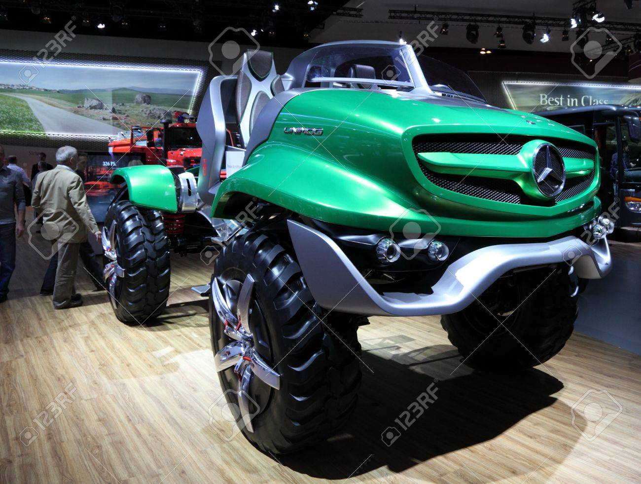 Mercedes Benz Unimog >> Hannover Sep 20 New Mercedes Benz Unimog Concept At The International
