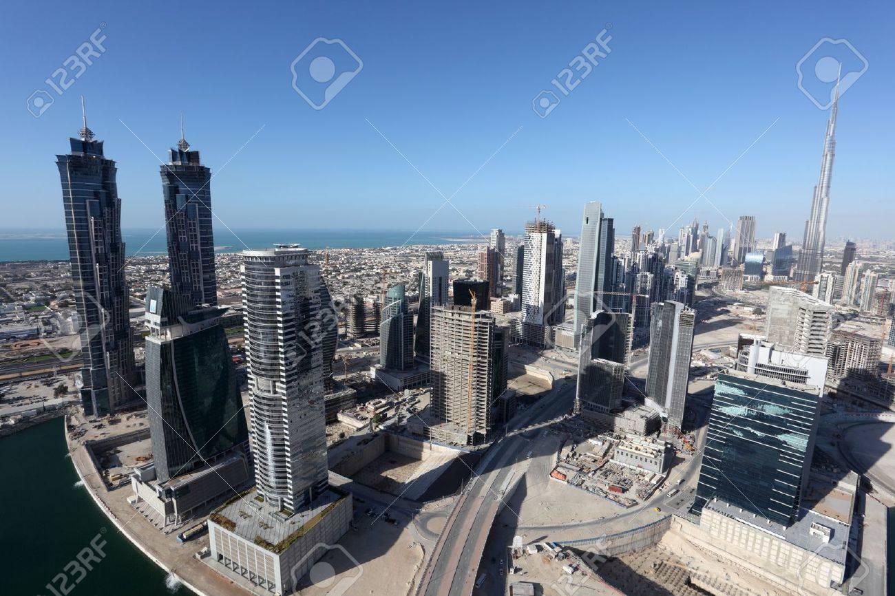 Dubai Business Bay, United Arab Emirate Stock Photo - 15750727