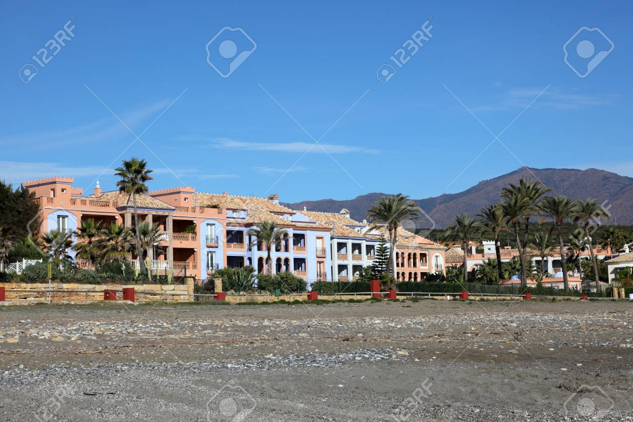 Vacation homes on Costa del Sol, Andalusia Spain Stock Photo - 17816487