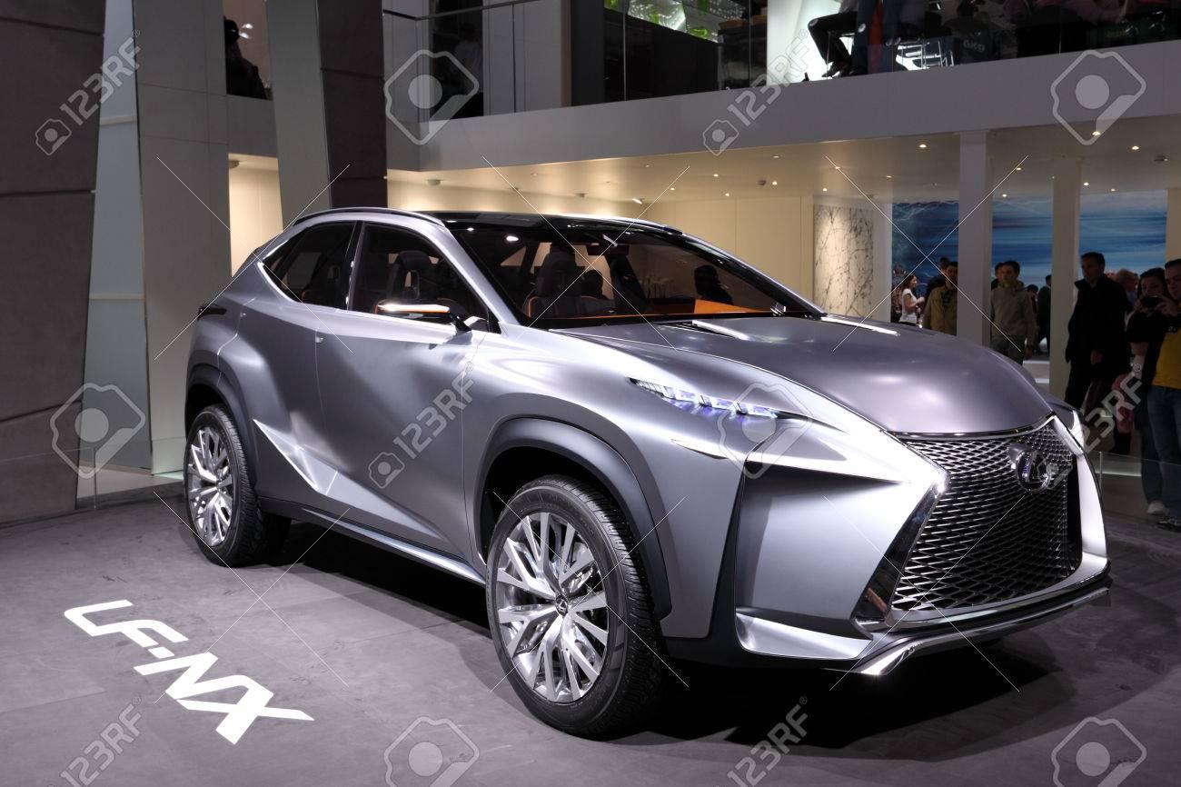 International Motor Show In Frankfurt, Germany. Lexus LF-NX Concept ...