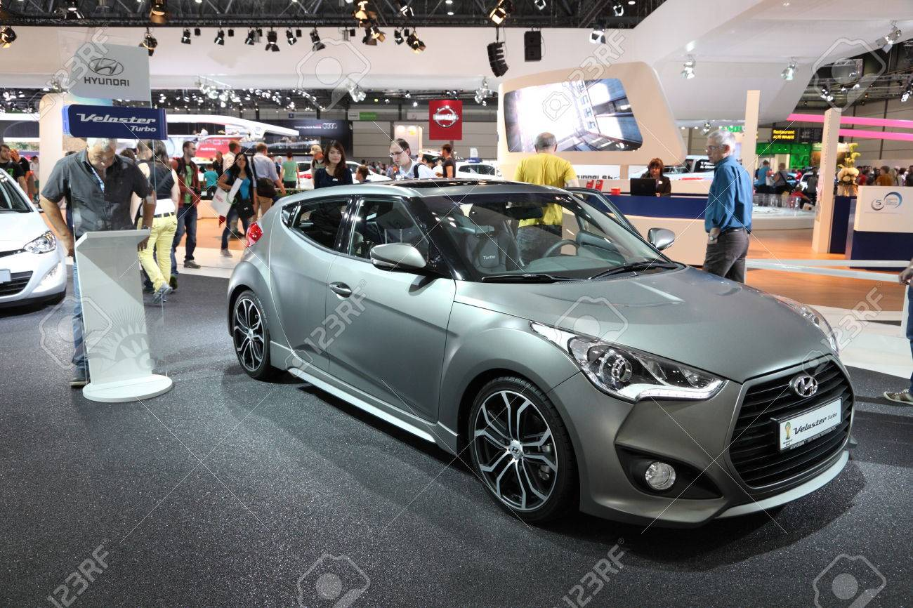 Hyundai Veloster Turbo At The Ami Auto Mobile International
