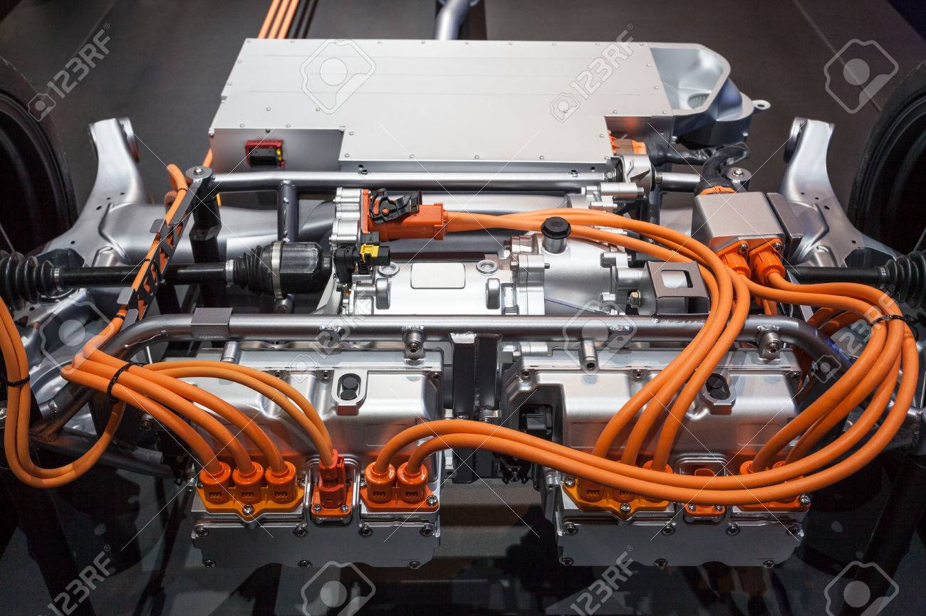 Transmission of a modern plugin hybrid vehicle Stock Photo - 46522604