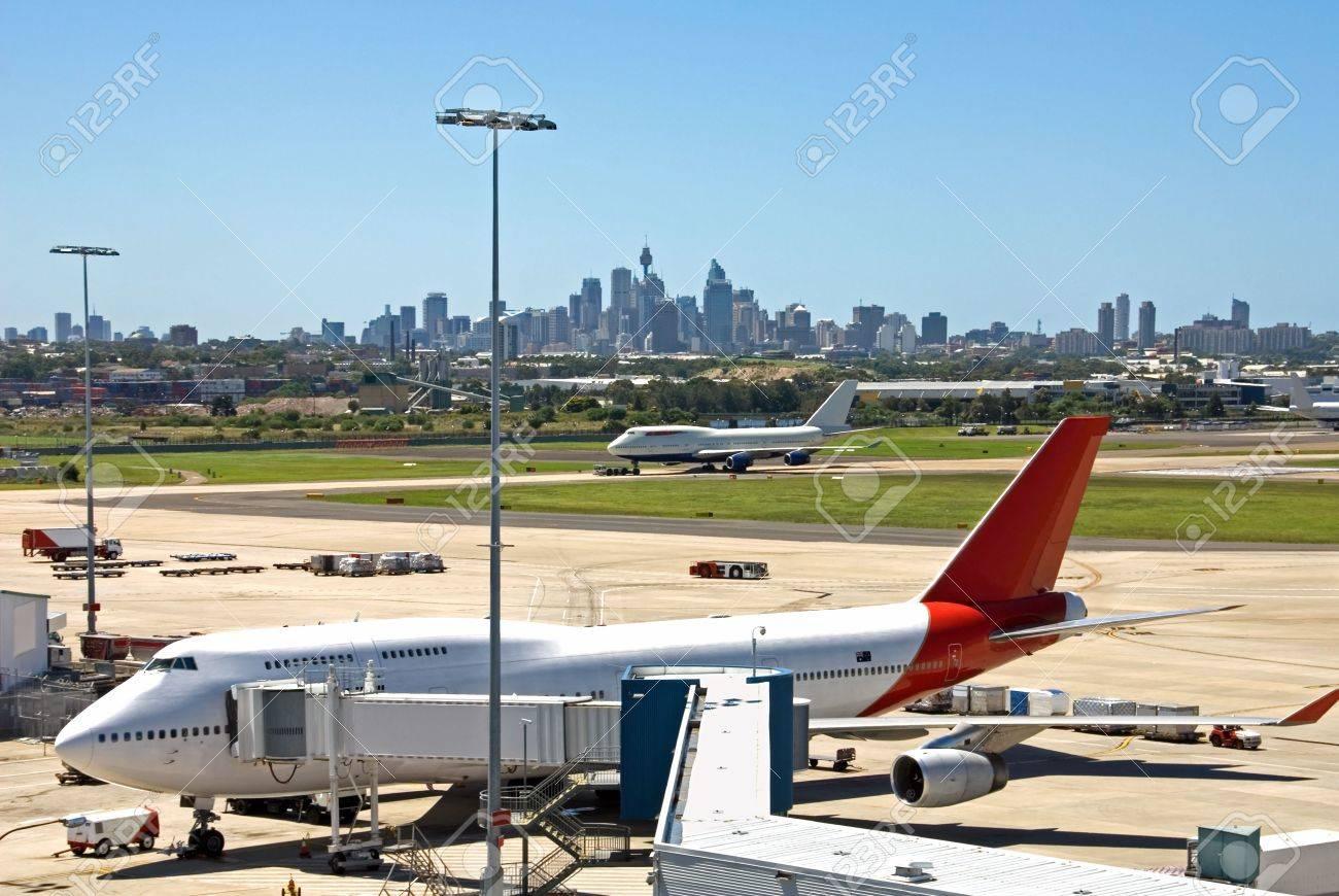 Blue apron australia - A Scene From Kingsford Smith Airport Sydney Australia Stock Photo 2657497