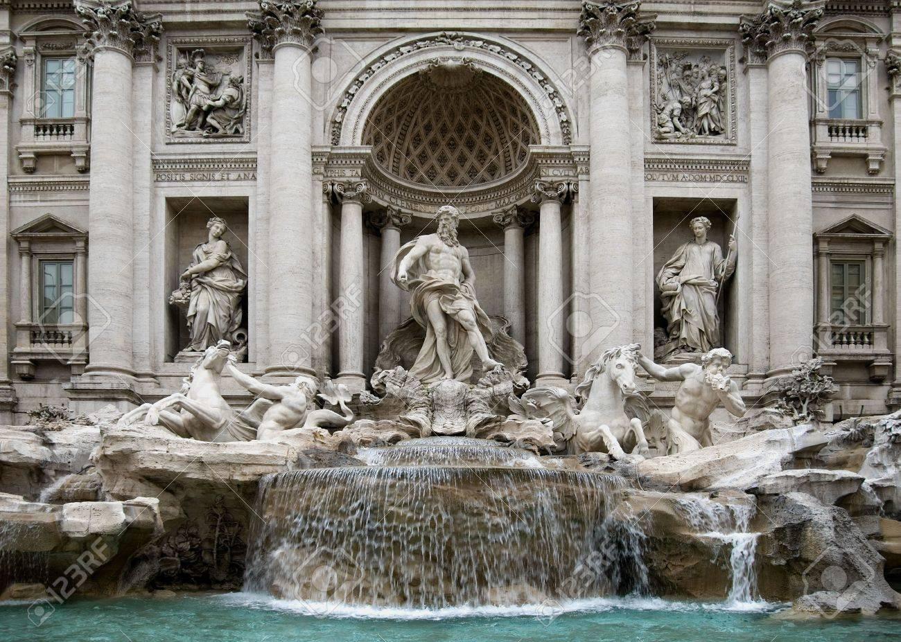Oceanus Statue