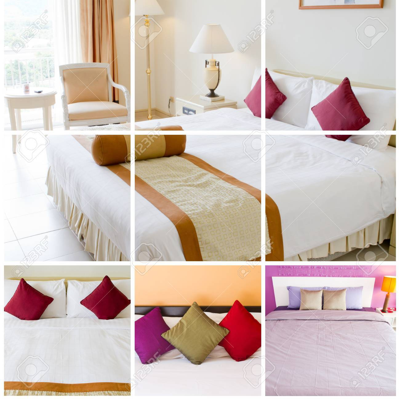 Collection bedroom  Stock Photo - 13226458